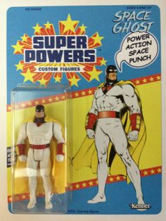 Space Ghost by Javier Garcia 1960s Toys, Retro Toys, Vintage Toys, Best Action Figures, Alternative Comics, Space Ghost, Modern Toys, Robot Concept Art, Dc Characters