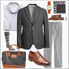 The Gray Sportcoat - 5 Looks: Business Casual