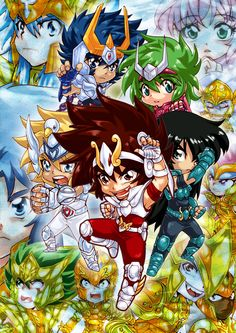Finally done! A poster for Saint Seiya Only Event in Thailand! It took me a lot of time to do this. Saint Seiya Only Event Poster Anime Chibi, Manga Anime, Sailor Moon, Fan Art, Manga Love, Nerd Geek, Canvas, Saints, Geek Stuff