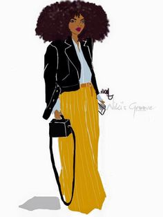 APiF: Please introduce yourself Niki's Groove: My name is Nicholle Kobi, I am a French-Congolese illustrator based In Paris. APiF: You do illustrations – how did you get into drawing/a…