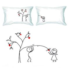 valentine day pillows