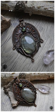 Viridia by Eartha Creations on DevinatArt. #jewelry #handmade #unique #fantasy