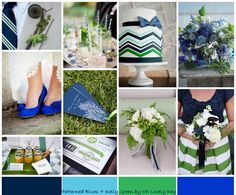 wonderful color pallet for a summer wedding!