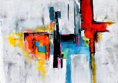 Grand Original de la peinture contemporaine Art de toile
