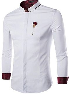 (ジーンズイアン)Jeansian 男性のビジネスの固体のブローチの長袖ドレスシャツ3色 8769 White S jeansian(ジーンズイアン) http://www.amazon.co.jp/dp/B019XBTWBO/ref=cm_sw_r_pi_dp_n3BPwb11DMTWW
