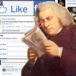 ¿Quieres motivos para no estar en Facebook? El Dr Samuel Johnson te da algunos