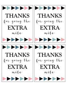 Extra Gum Thank You Printable - Paper Trail Design Appreciation Message, Employee Appreciation Gifts, Volunteer Appreciation, Teacher Appreciation Week, Volunteer Gifts, Staff Gifts, Thank You Printable, Free Thank You Cards, Printable Paper