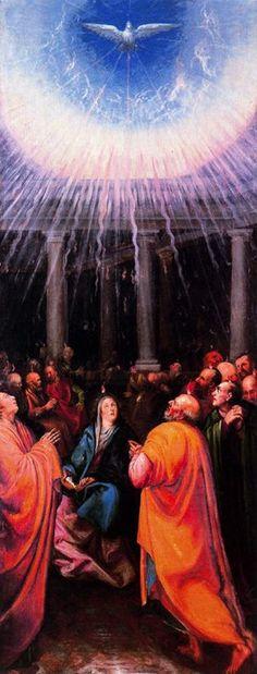 Juan de las Roelas, The Pentecost, late 16th century