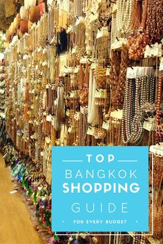Bangkok attracts hoards of shopaholics from across the globe. Here's a complete bangkok shopping guide to suit budget as well as luxury shoppers. So what are you waiting for? Read now, and make your way to the best malls of Bangkok!: