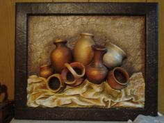 CACHARROS Salt Dough, Polymer Clay Art, Texture Painting, Candle Sconces, Online Art, Mini Albums, Folk Art, 3 D, Carving