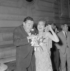 Comet Over Hollywood's photo. Jack Lemmon and Felicia Farr at their wedding in 1962. The two were married until Lemmon's death in 2001.