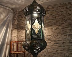 WE SHARE OUR  PASSION WITH YOU by OrientArtExpress on Etsy Moroccan Lighting, Moroccan Lamp, Moroccan Lanterns, Moroccan Bedroom, Moroccan Interiors, Moroccan Tiles, Chandeliers, Big Chandelier, Turkish Lights