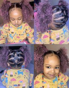 Black Girl Hairstyles For Kids Little Girls Natural Hairstyles, Toddler Braided Hairstyles, Kids Curly Hairstyles, Baby Girl Hairstyles, Mixed Kids Hairstyles, Fashion Hairstyles, Girl Hair Dos, Kid Hair, Hair Kids