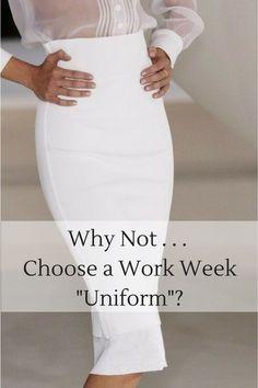 "{Why Not . . . Choose a Work Week ""Uniform""?}"