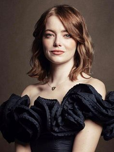 Emma Stone Daily — Emma Stone for The Hollywood Reporter Actress Emma Stone, Woman Crush, Hollywood Actresses, Redheads, My Hair, Beautiful People, Hairstyle, Celebs, Emily Osment