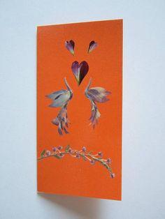 Handmade unique greeting card Love happened