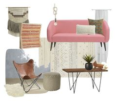 """""""Southwest Pink"""" by gollymiss ❤ liked on Polyvore featuring interior, interiors, interior design, dom, home decor, interior decorating, CB2, sweepstakes i APTCB2"""