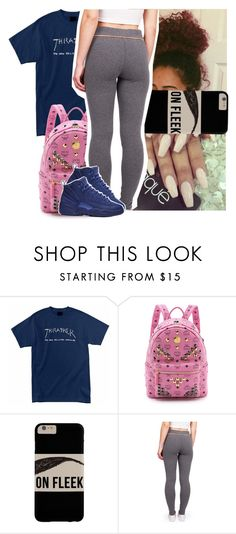 """""""Timeless - A boogie w/ da hoodie"""" by theyknowtyy ❤ liked on Polyvore featuring Religion Clothing, MCM and NIKE"""