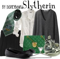 Slytherin by Disneybound