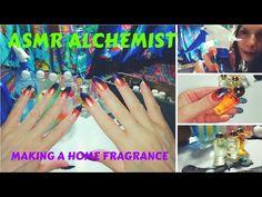 Asmr Alchemist making a home fragrance. Fake nails tapping, soft liquid sounds and more, as I prepare for you a homemade air freshener! Asmr, Homemade Air Freshener, Alchemist, Wordpress, Fragrance, Taps, How To Make, Color, Autonomous Sensory Meridian Response