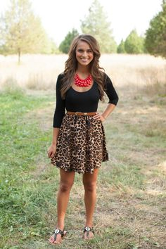 The Pink Lily Boutique - That's My Kind of Night Leopard Dress, $39.00 (http://thepinklilyboutique.com/thats-my-kind-of-night-leopard-dress/)