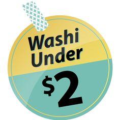 Washi Tape!!  Under $2!