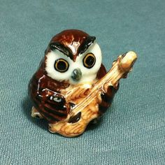 Hey, I found this really awesome Etsy listing at https://www.etsy.com/listing/204953993/miniature-ceramic-owl-bird-animal
