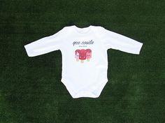"""Body bebé de algodón personalizable con ilustración de helados y texto """"que cosita más dulce"""" - www.ilustracionesilustres.com"""