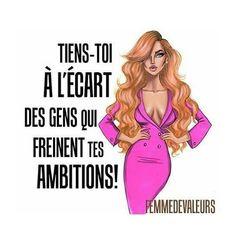 @femmedevaleursmag Citation Motivation #Citation #Motivation Femme #Femme Ambition, Miracle Morning, Brave Women, Angel Eyes, Successful Women, Motivation, Girl Boss, Strong Women, Courage