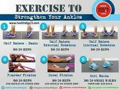 - Ankle Sprain Rehabilitation Exercise to strengthen your ankles Strengthen Ankles, Weak Ankles, Ankle Strengthening Exercises, Foot Exercises, Sprained Ankle Exercises, Ankle Mobility Exercises, Ankle Stretches, Ankle Rehab Exercises, K Tape