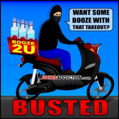 Chinese Delivery Man Busted For Underage Booze