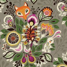 Helen Dardik -Fox Pattern