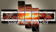 2869e7c9409 decorative iron wall art Picture - More Detailed Picture about free  shipping decoration painting oil canvas Contemporary Abstract high quality  handmade ...