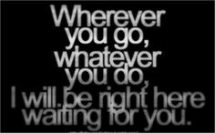 Wherever You Will Go Lyrics
