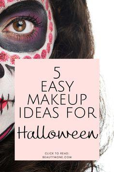 5 Easy Halloween Makeup Look Ideas | Makeup Ideas for Halloween | Halloween Makeup | Halloween Makeup Looks #halloween #halloweenmakeup