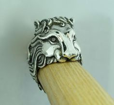 Pride Lion Ring by martymagic on Etsy, $375.00
