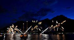 Fireworks in Lecco, Lake Como - june 2014 | Fuochi d'artificio per la benedizione del lago a Lecco, Lago di Como - giugno 2014| #lake #Como #Lago #Italy #lakecomoapp #lecco #fireworks