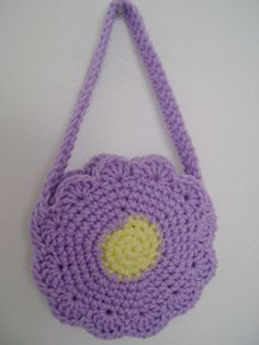 small child's purse - crochet