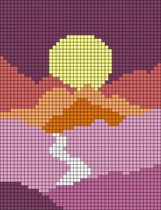 Cross Stitch Art, Cross Stitch Designs, Cross Stitch Embroidery, Embroidery Patterns, Cross Stitch Patterns, Crochet Wall Hangings, Tapestry Crochet, Tapestry Weaving, Pixel Pattern