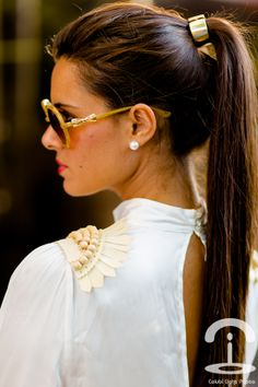 DIY Burberry Prorsum inspired blouse by Crimenes de la Moda