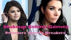 Makeup Selena Gómez premier Spring Breakers