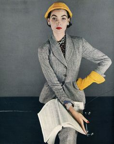 1950s - Grey and mustard