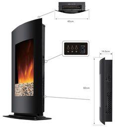 Dimensions cheminee Black kamin 530