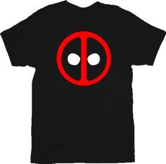 Amazon.com: Deadpool Icon Black Adult T-shirt Tee: Clothing
