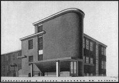 S.P. Botkin city hospital, apothecary and lab, Leningrad A. Gegello, D. Krichevskiy, 1928