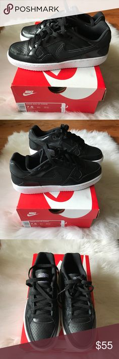 Nike Air Force One NWT New with tags Nike Air Force One shoes in black. Nike Shoes Sneakers