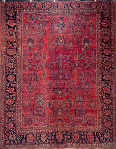 """The most iconic of Persian rugs of 19th. century for the most sophisticated homes.11'0"""" x 9'0"""""""
