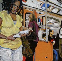 """TTC Series I, oil on canvas, 30"""" x 30"""""""