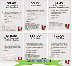Kfc Coupons Promo Coupons will expired on MAY 2020 ! About KFC For fried chicken in the Colonel's kitchen, use the Kentucky Fried C. Mcdonalds Coupons, Kfc Coupons, Grocery Coupons, Online Coupons, Free Coupons, Print Coupons, Discount Coupons, Kfc Printable Coupons, Free Printables