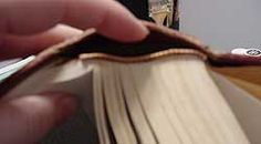 Altered Books - how to prep a book and good info on choosing books to alter.